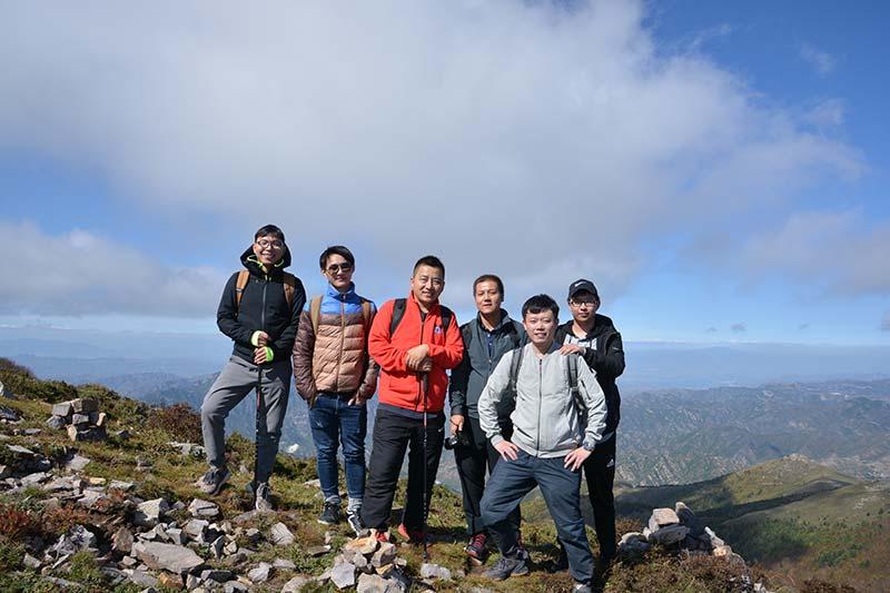 团建:团队畅游东灵山